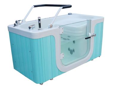 Lower limb bow wave bubble hydrotherapy bathtub